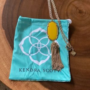 Kendra Scott Rayne Necklace in Yellow